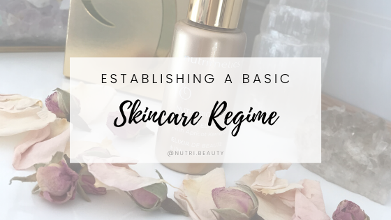 Establishing a basic skincare regime